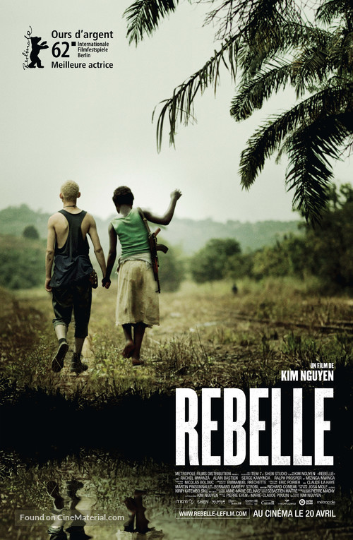 Rebelle - Canadian Movie Poster