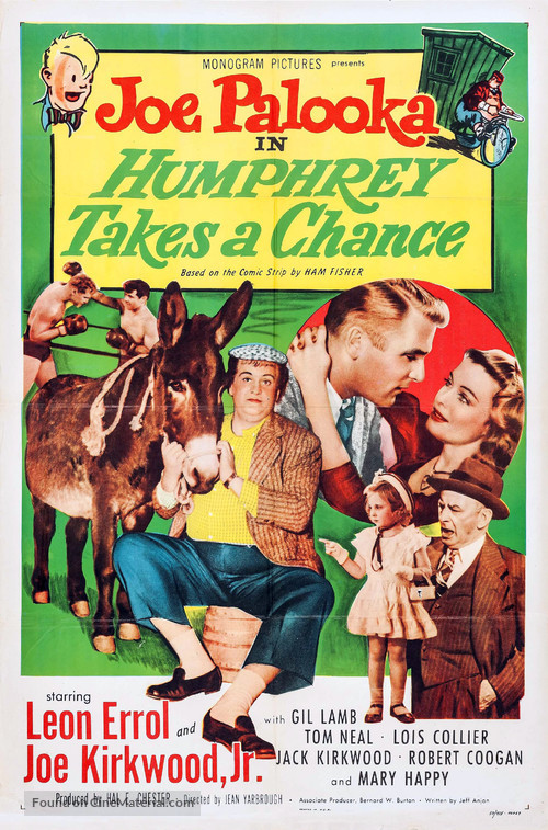 Joe Palooka in Humphrey Takes a Chance - Movie Poster