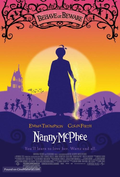Nanny McPhee - poster