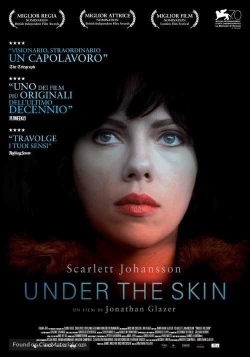 Image result for under the skin movie poster