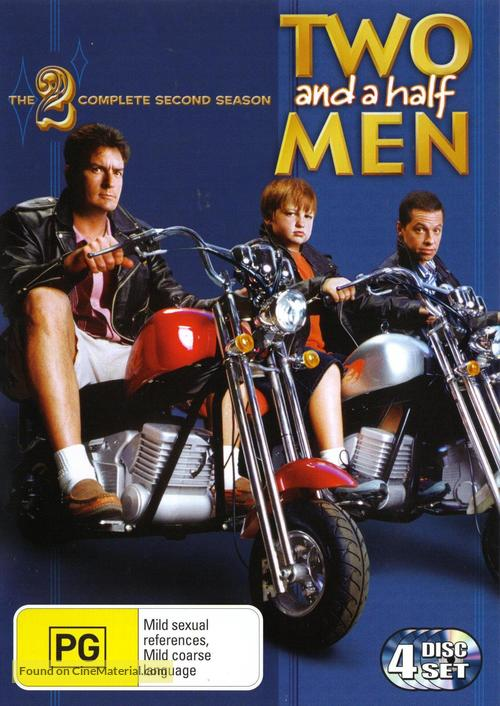 """""""Two and a Half Men"""" - Australian DVD movie cover"""