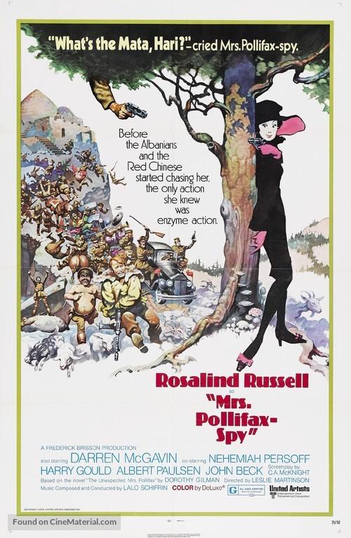 Mrs. Pollifax-Spy - Movie Poster