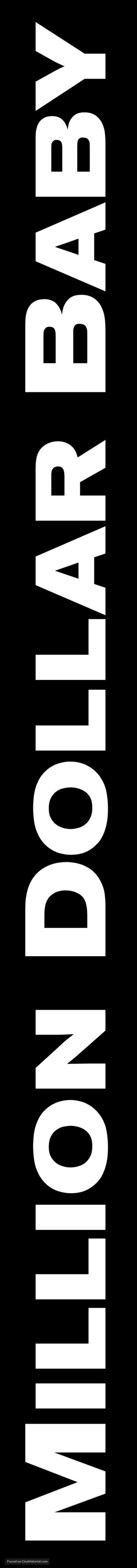 Million Dollar Baby - Logo