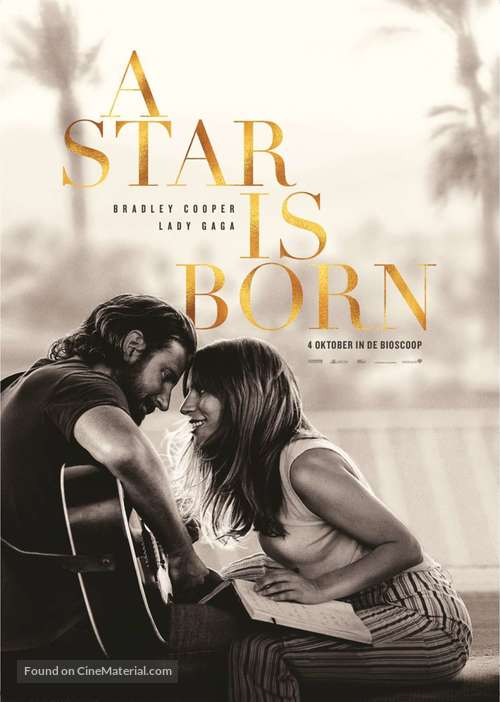A Star Is Born - Dutch Movie Poster