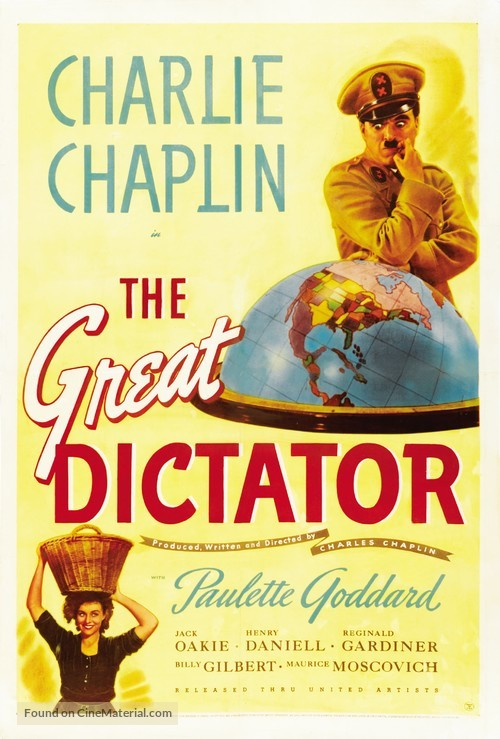The Great Dictator - Movie Poster