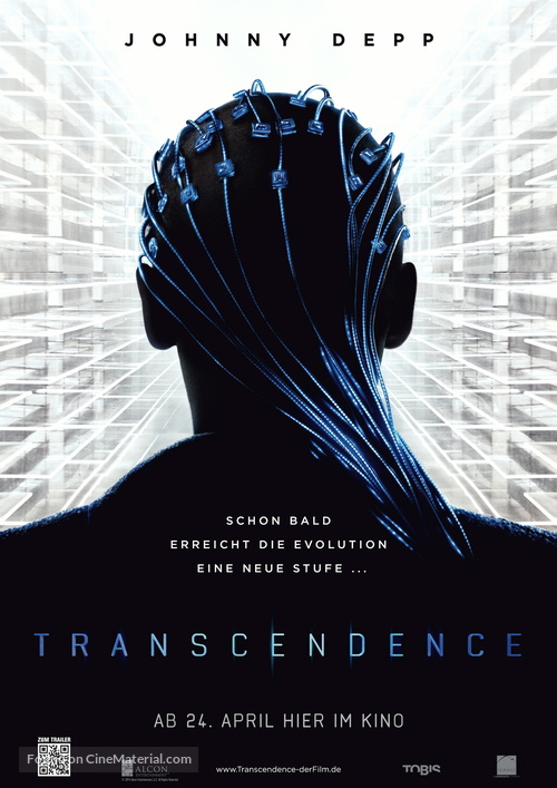 Transcendence - German Movie Poster