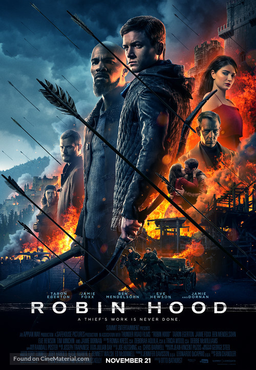 Robin Hood - Canadian Movie Poster