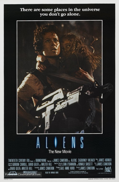 Aliens - Movie Poster