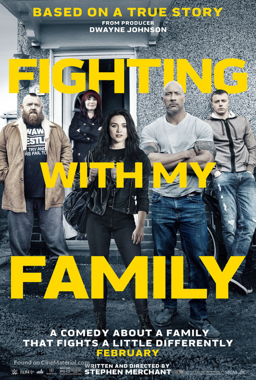 Fighting with My Family - Movie Poster