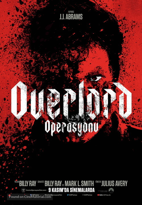 Overlord - Turkish Movie Poster