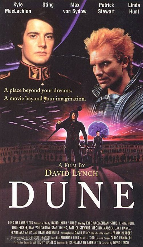 Dune - VHS movie cover