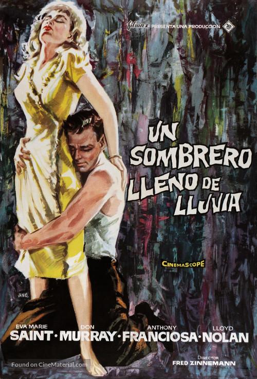 A Hatful of Rain - Spanish Movie Poster