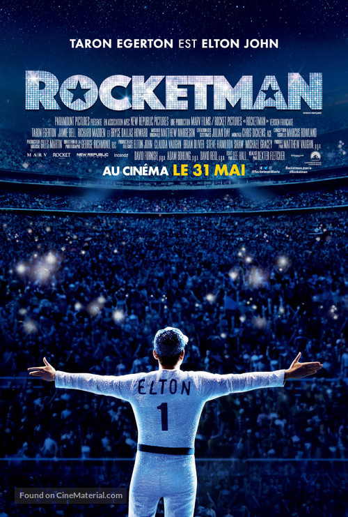 Rocketman - Canadian Movie Poster