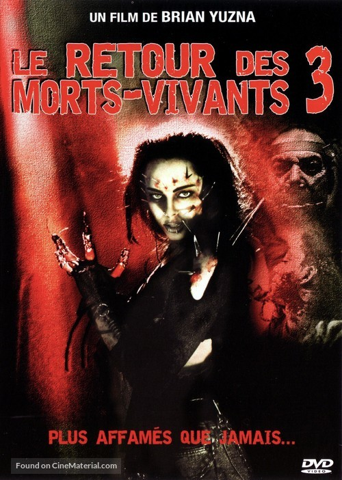 Return of the Living Dead III - French Movie Cover