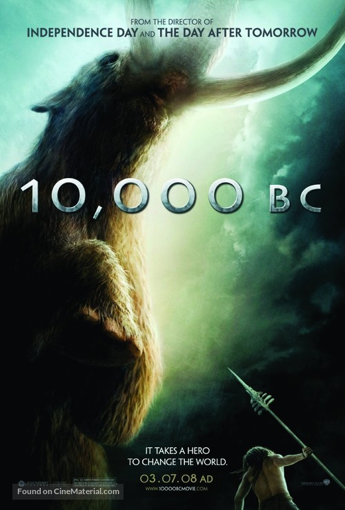 10,000 BC - Movie Poster