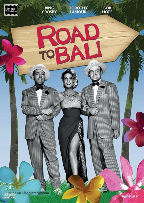 Road to Bali - British DVD cover