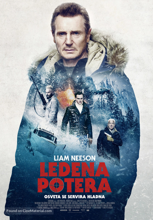 Cold Pursuit - Serbian Movie Poster