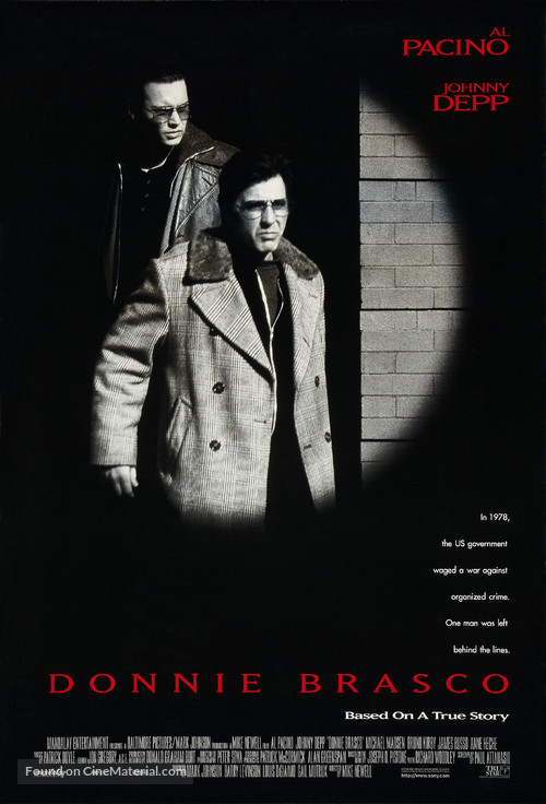 Donnie Brasco - Movie Poster