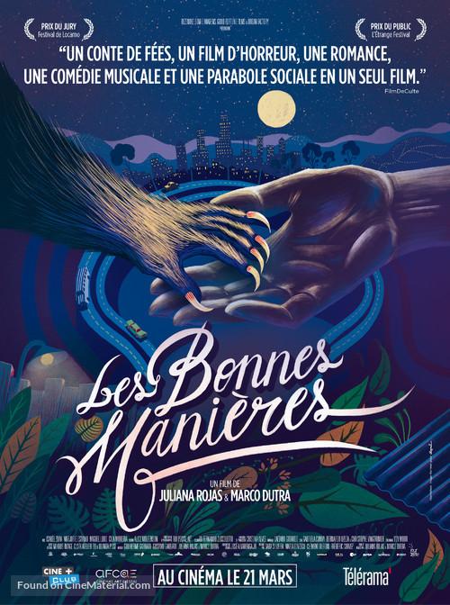 As Boas Maneiras - French Movie Poster