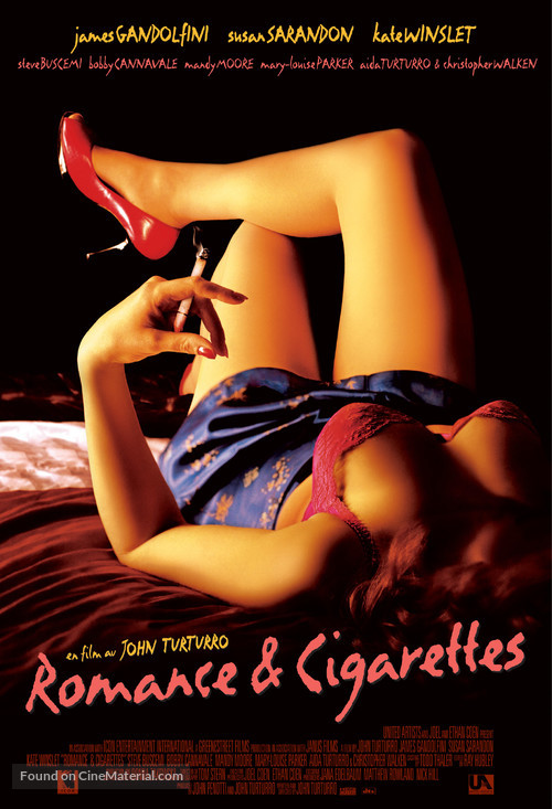 Romance & Cigarettes - Movie Poster