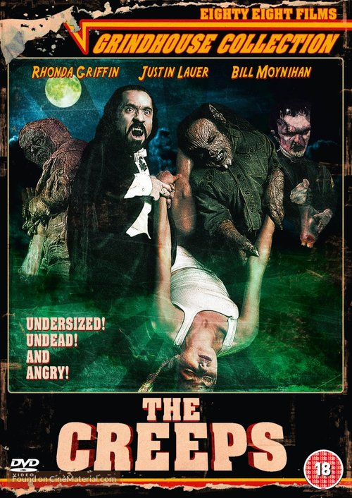 The Creeps - British DVD movie cover