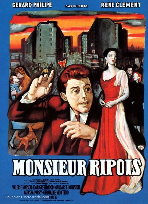 Monsieur Ripois       - French Movie Poster