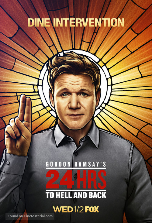"""""""24 Hours to Hell and Back"""" - Movie Poster"""