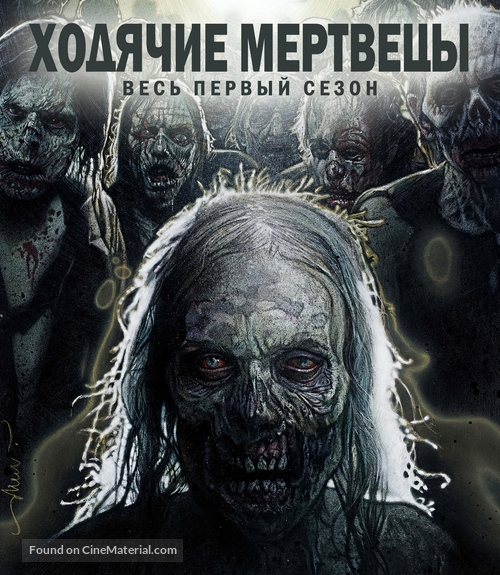 """The Walking Dead"" - Russian Blu-Ray movie cover"