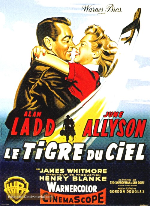 The McConnell Story - French Movie Poster
