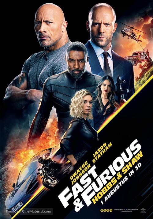 Fast & Furious Presents: Hobbs & Shaw - Dutch Movie Poster
