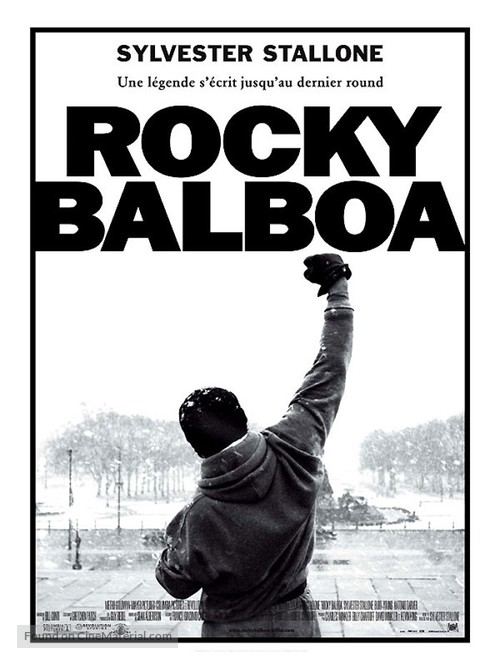 Rocky Balboa - French Movie Poster