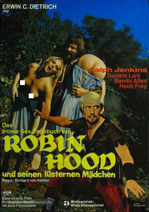 The Ribald Tales of Robin Hood - German Movie Poster
