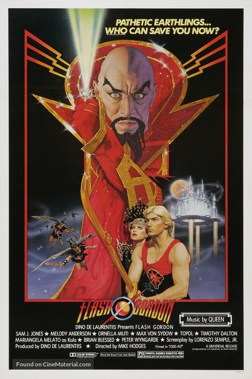 Flash Gordon - Movie Poster