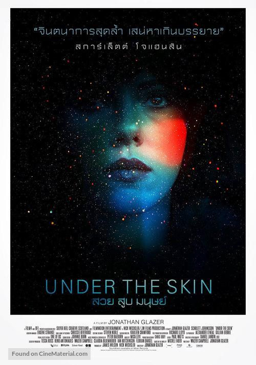 Under the Skin - Thai Movie Poster