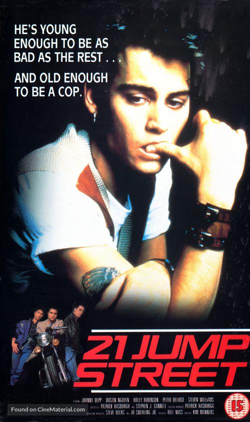 """21 Jump Street"" - British Movie Cover"