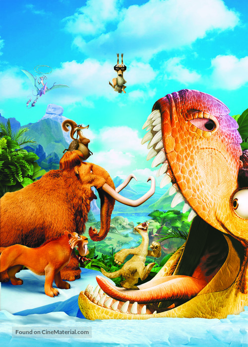 Ice Age: Dawn of the Dinosaurs - Key art