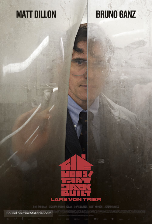 The House That Jack Built - Danish Movie Poster