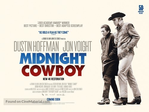 Midnight Cowboy - Re-release movie poster