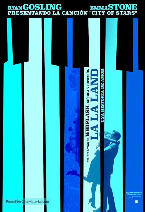La La Land - Mexican Movie Poster