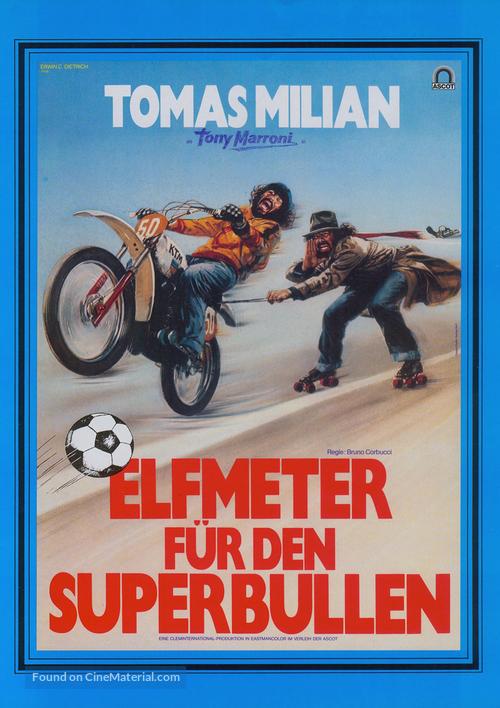 Delitto a Porta Romana - German Movie Poster