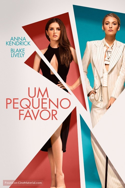 A Simple Favor - Portuguese Movie Cover