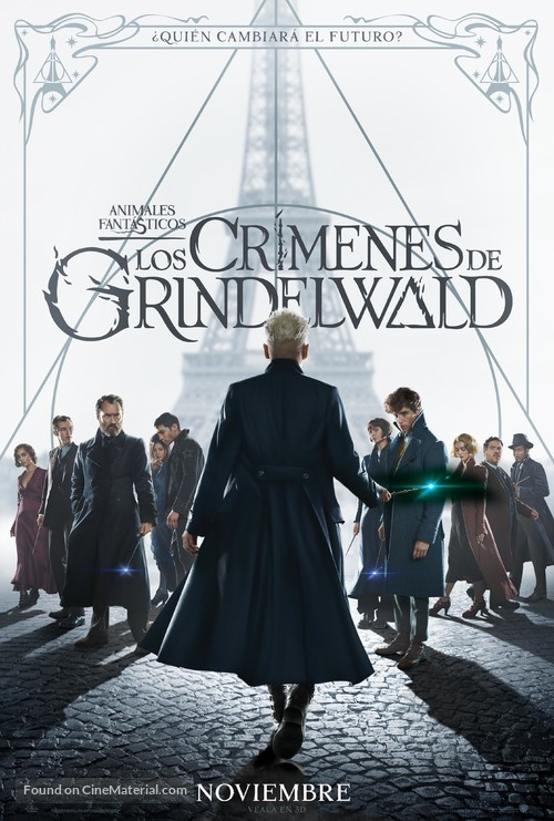 Fantastic Beasts: The Crimes of Grindelwald - Mexican Movie Poster
