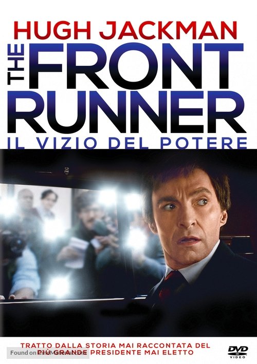 The Front Runner - Italian DVD movie cover
