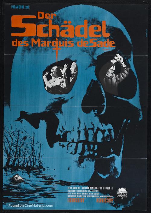 The Skull - German Movie Poster