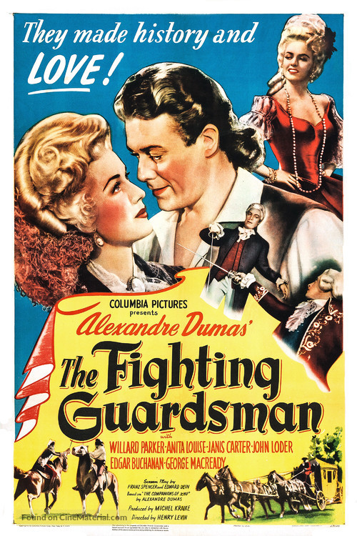The Fighting Guardsman - Movie Poster