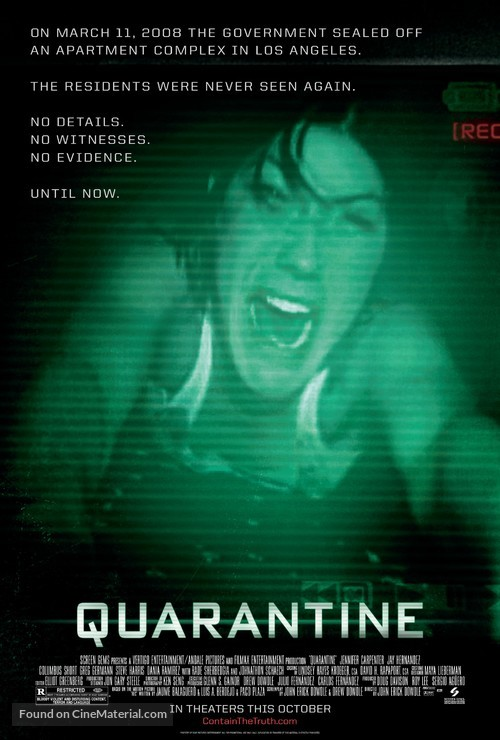 Quarantine - Movie Poster