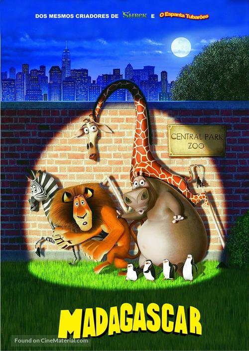 Madagascar - Brazilian poster