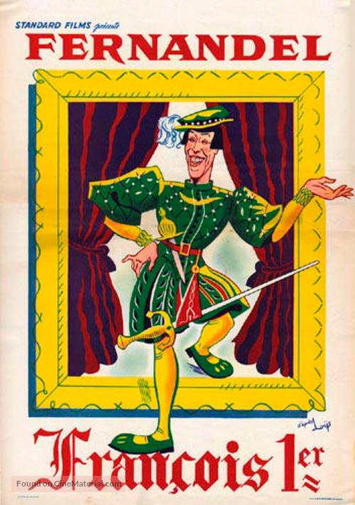 François Premier - French Movie Poster