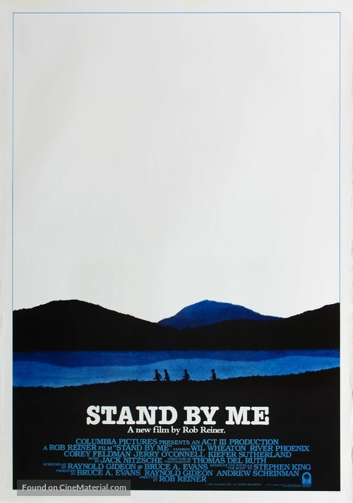 Stand by Me - Movie Poster
