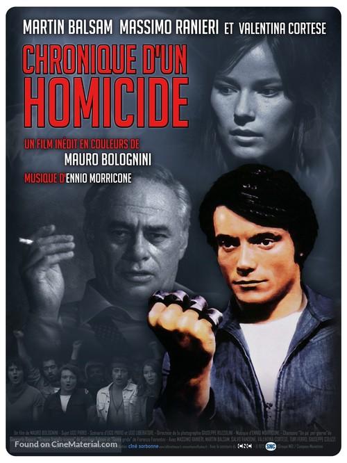 Imputazione di omicidio per uno studente - French Re-release movie poster